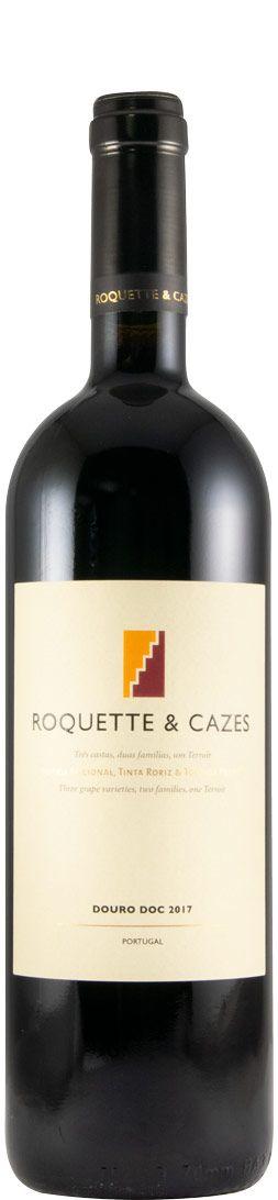 Vinho Tinto Roquette e Cazes  Douro D.O.C. 750ml