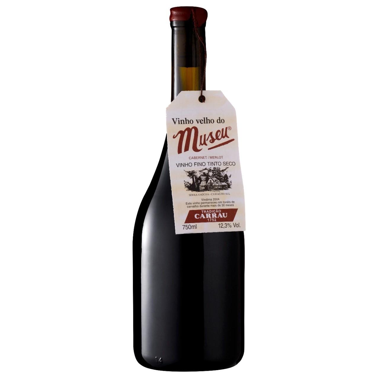 Vinho Tinto Velho Do Museu Cabernet & Merlot 750ml