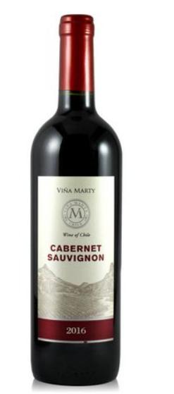 Vinho Tinto Vina Marty Cabernet 750ml