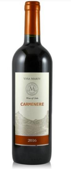 Vinho Tinto Vina Marty Carmenere 750ml