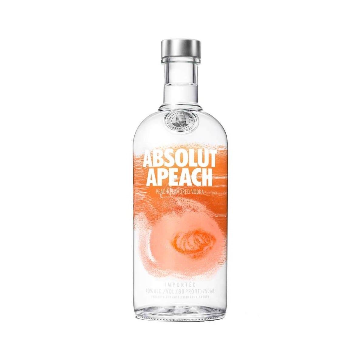 Vodka Absolut Apeach 750ml