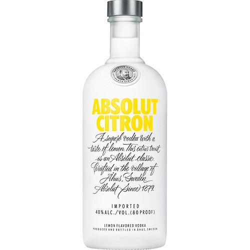 Vodka Absolut Citron 750ml