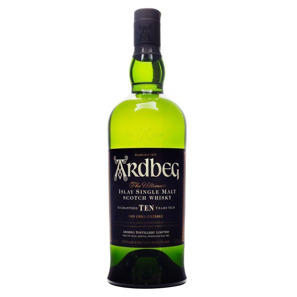 Whisky Ardbeg 10 Anos Single Malt 750 ml C/3 GF