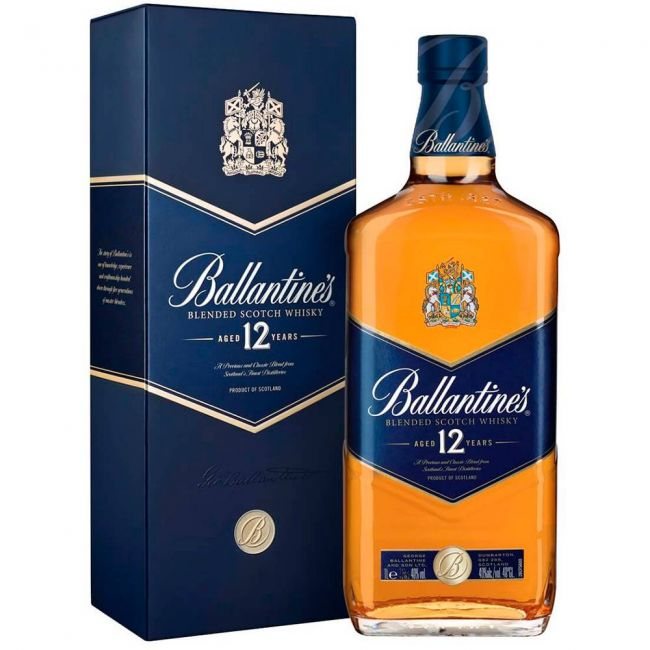 Whisky Ballantines 12 anos 1000ml