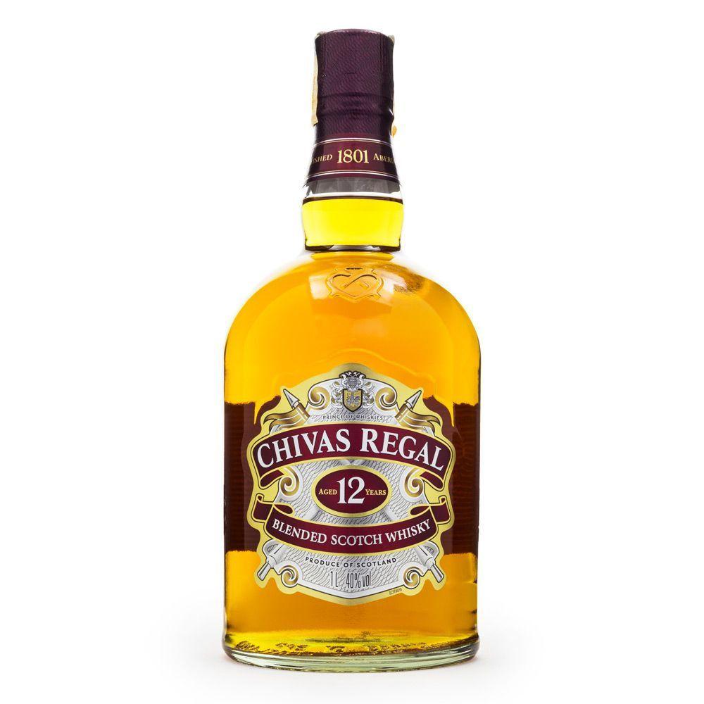 Whisky Chivas 12 anos 750 ml - Lata