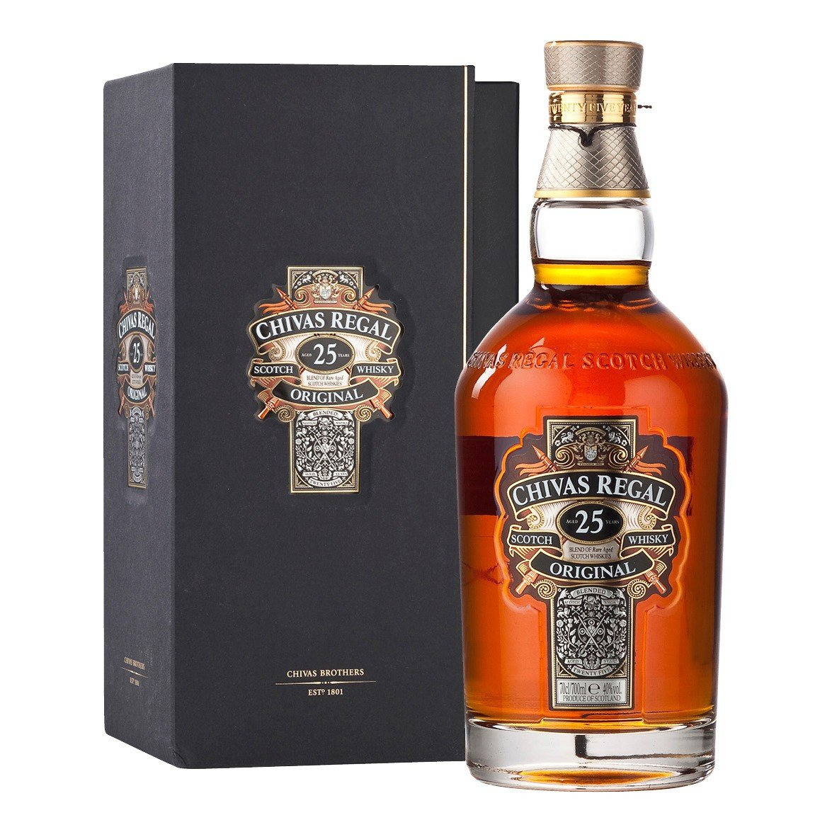 Whisky Chivas Regal 25 anos 700ml