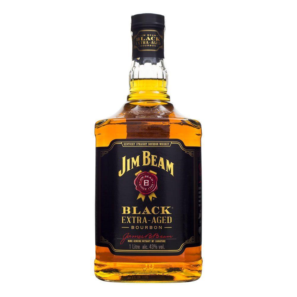 Whisky Jim Beam Black Bourbon Extra Aged 1000ml
