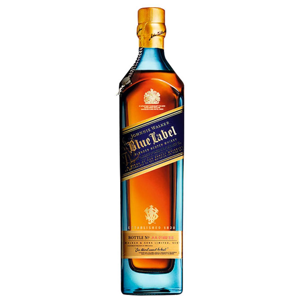 Whisky Johnnie Walker Blue Label 750ml