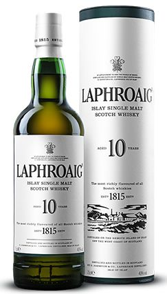 Whisky Laphroaig Single Malt 10 anos 750ml