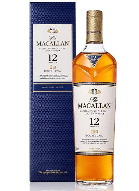 Whisky Macallan 12 anos Double Cask 700ml