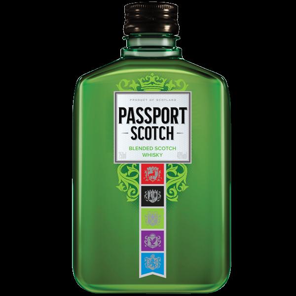 WHISKY PASSPORT SCOTCH 250ML