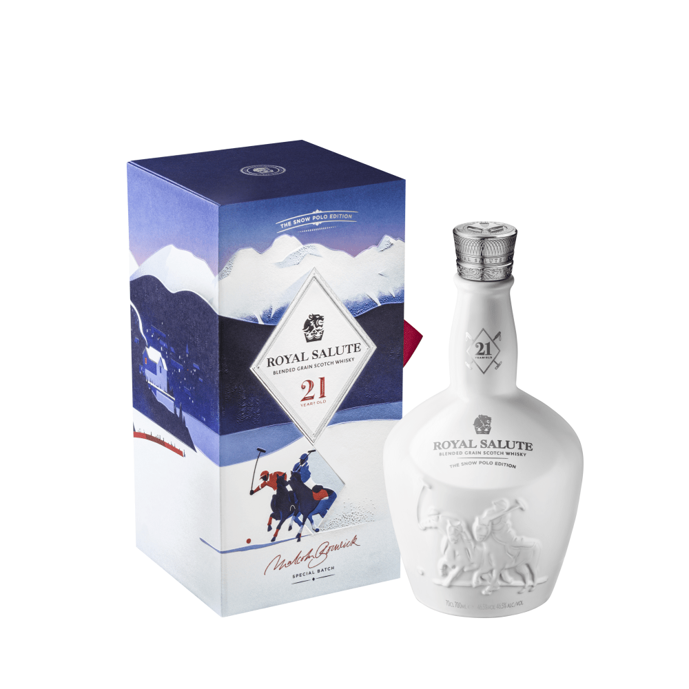 Whisky Royal Salute Snow Polo Edition 700 ml.