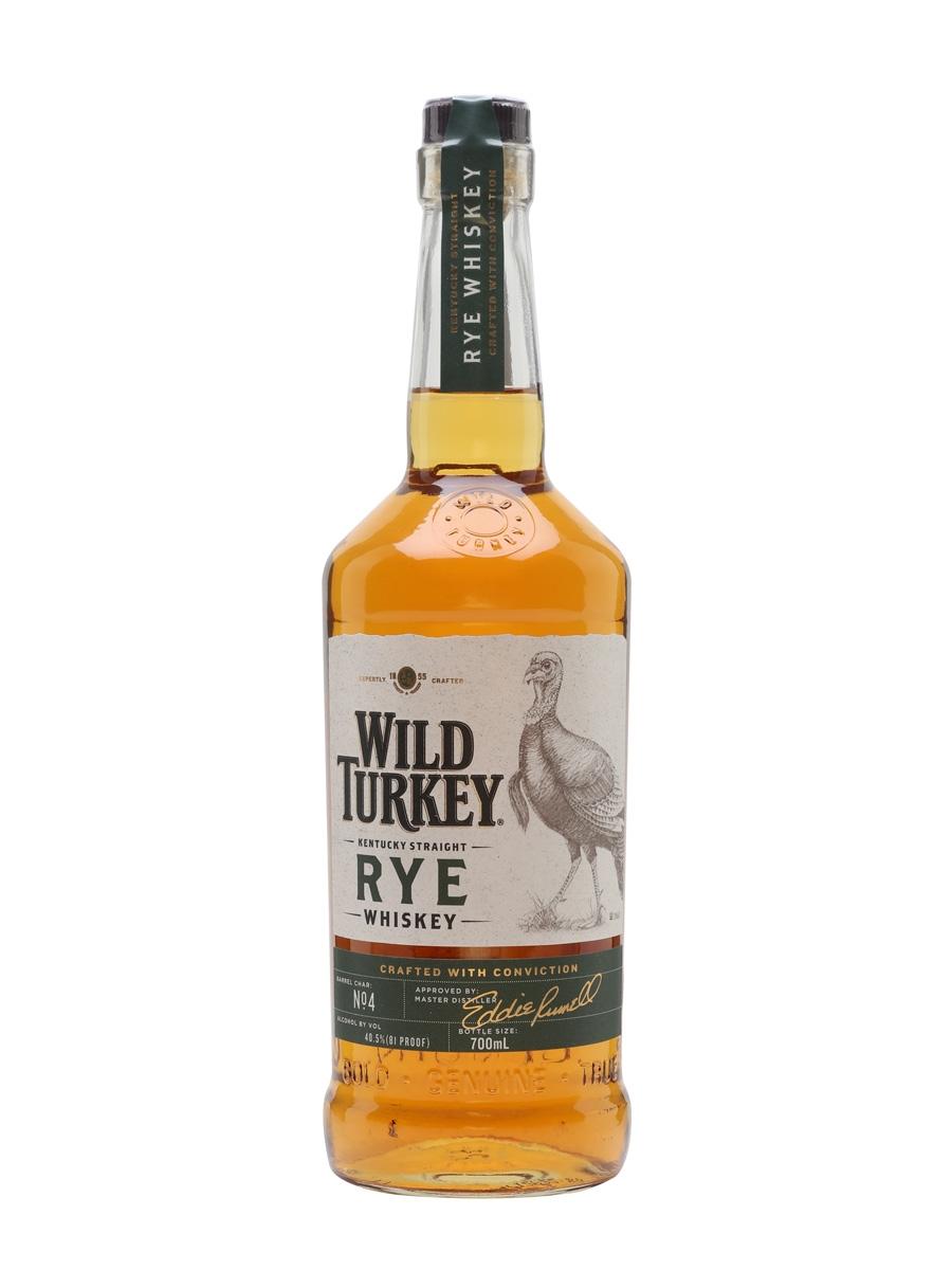 Whisky Wild Turkey RYE Bourbon 700 ml