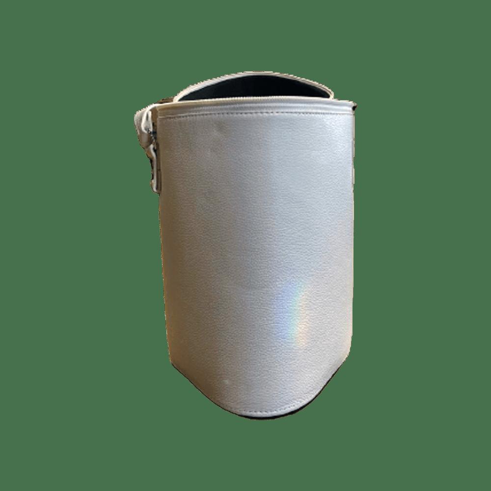 Wine Bag 3 100% Couro Branco by Reserva 35