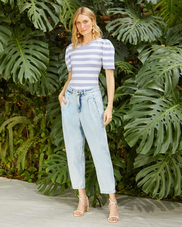 Calça Jeans Bolso Frente