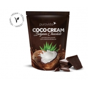 Coco Cream Leite Coco Pó Chocolate Belga 250g Puravida