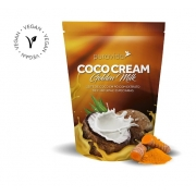 Coco Cream Leite Coco Pó Golden Milk Cúrcuma 250g Puravida