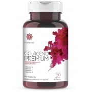Colágeno Premium - Colágeno Hidrolisado, Tipo 2, Vitaminas A, C, E e D Puravitta 60cap