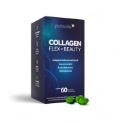 Collagen Flex Beauty 60cap Puravida, Colágeno Pura Vida