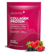 Collagen Protein Pura Vida (450g) - Colágeno 21g Proteína , Berries Silvestres