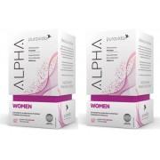 Kit 2 Alpha Women Polivitam Puravida 60 Cáps Pura Vida