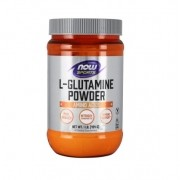 L Glutamine Powder 454g - Glutamina Pó Now Foods Sports