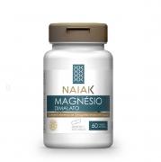 Magnésio Dimalato Malato - Acido Malico - 60 Cáps -  Naiak