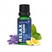Relax Blend Puravida Óleo Essencial Madeira, Cítricos e Flores 15 ML