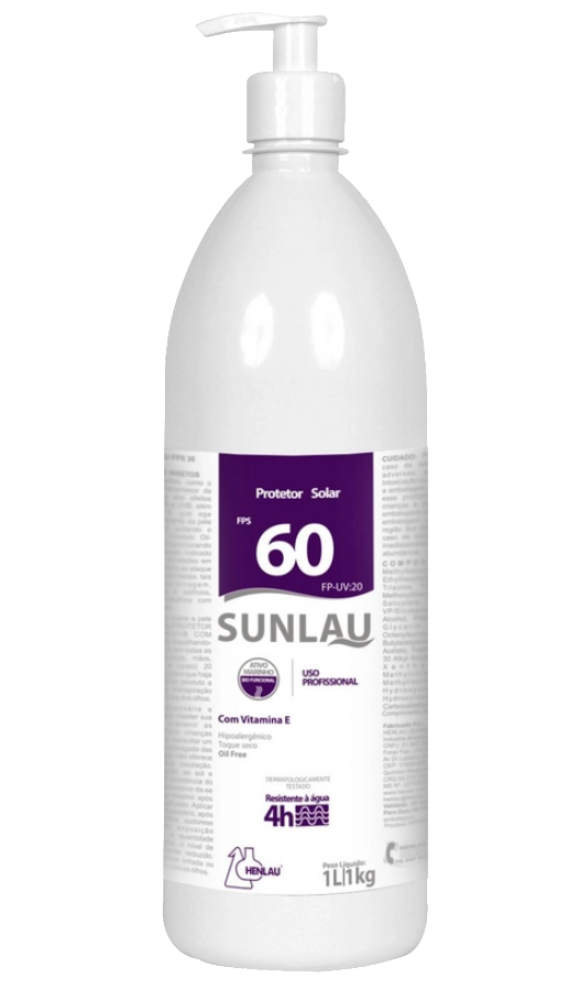 PROTETOR SOLAR FPS 60 SUNLAU 1KG