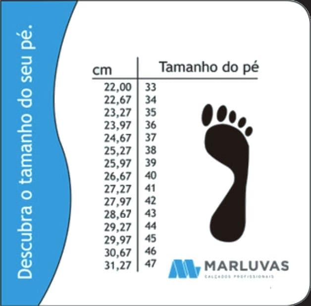 SAPATO DE SEGURANÇA EM COURO MARLUVAS 50F61-SRV
