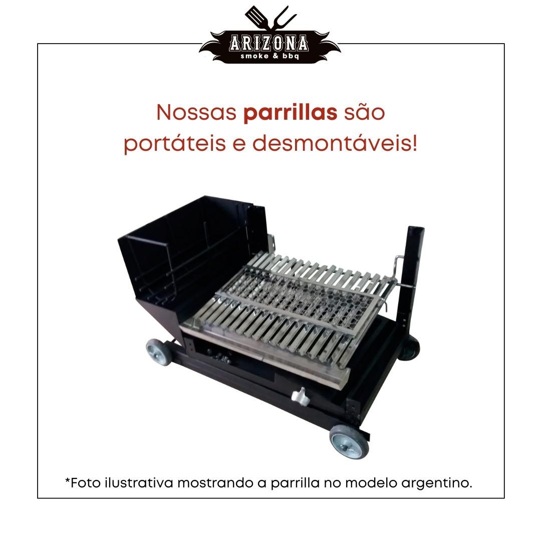 Parrilla Uruguaia - Grelha Aço
