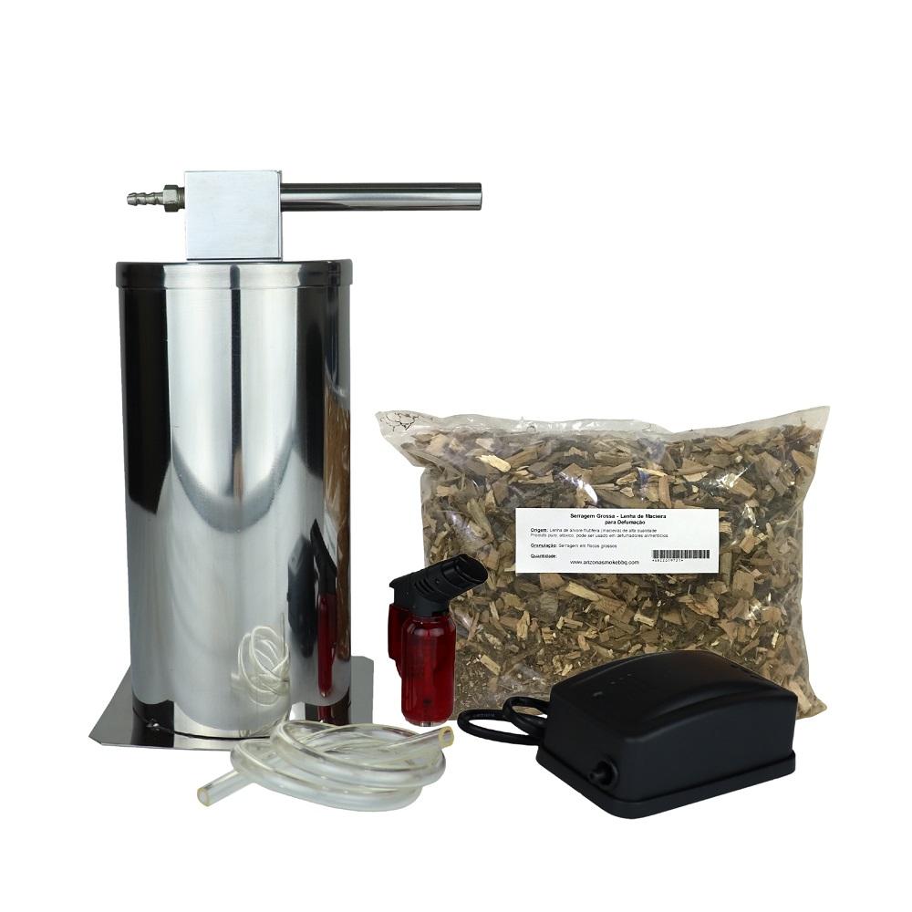 Defumador a Frio em Inox 200mm