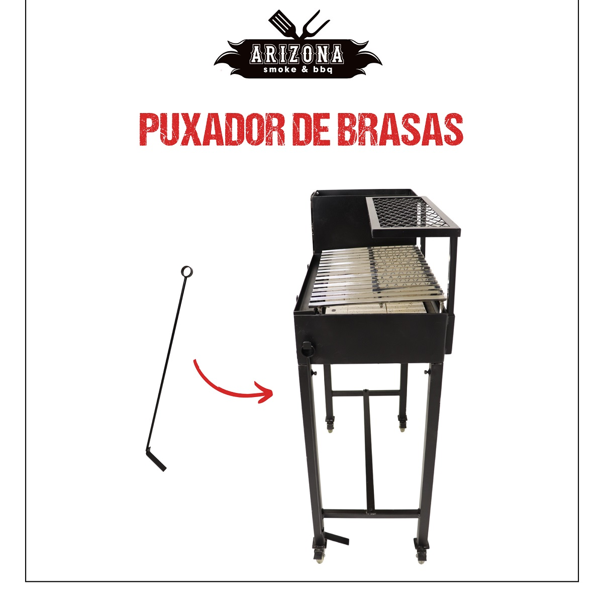 Parrilla Essential Grelha Argentina - Arizona Smoke & BBQ