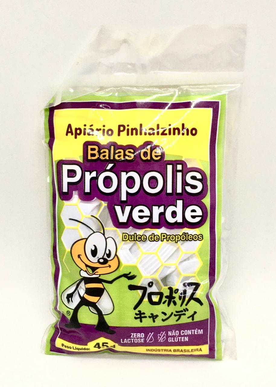 Bala de Própolis Verde  - Casa do Mel
