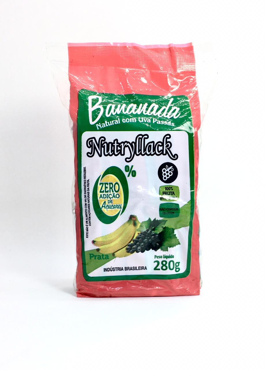Bananada com Uvas Passas Zero Açúcar  - Casa do Mel