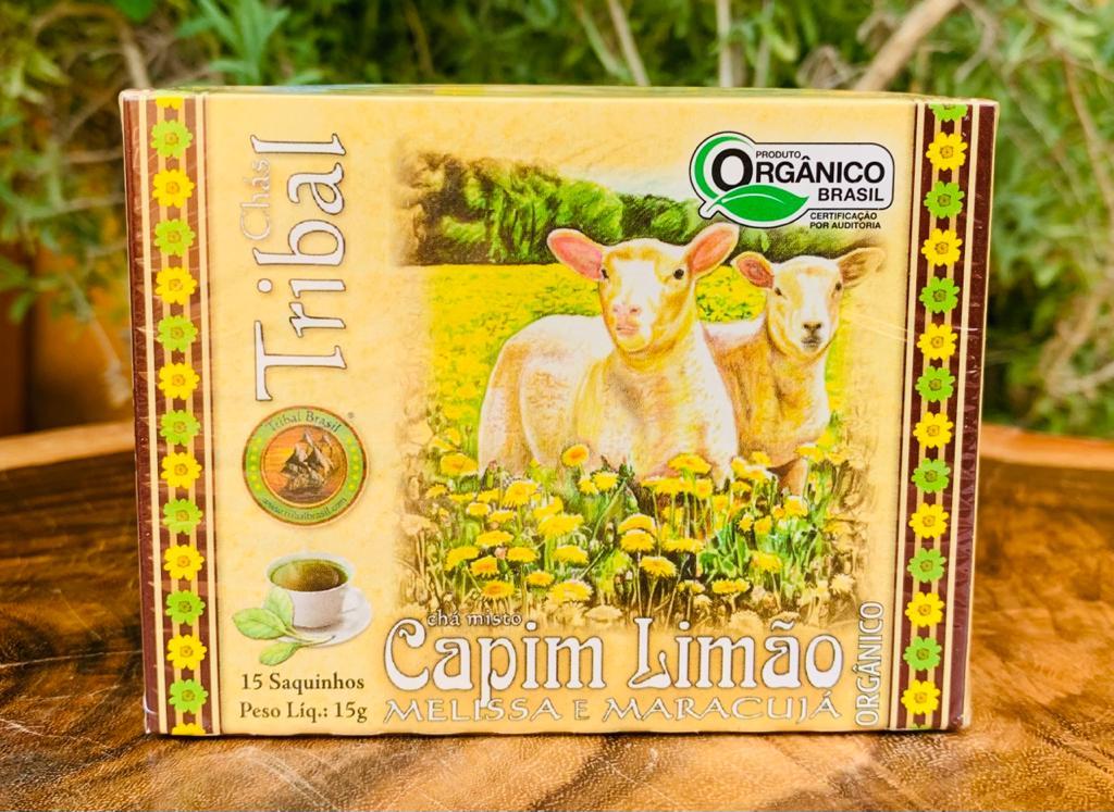 Chá de Capim Limão  - Casa do Mel