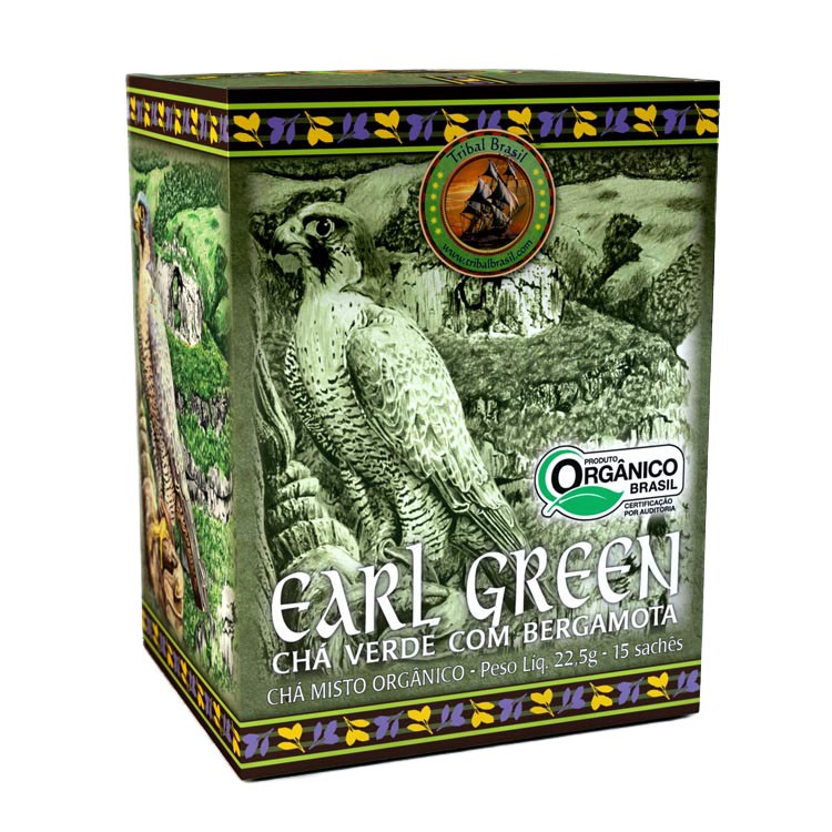 Chá Earl Green  - Casa do Mel