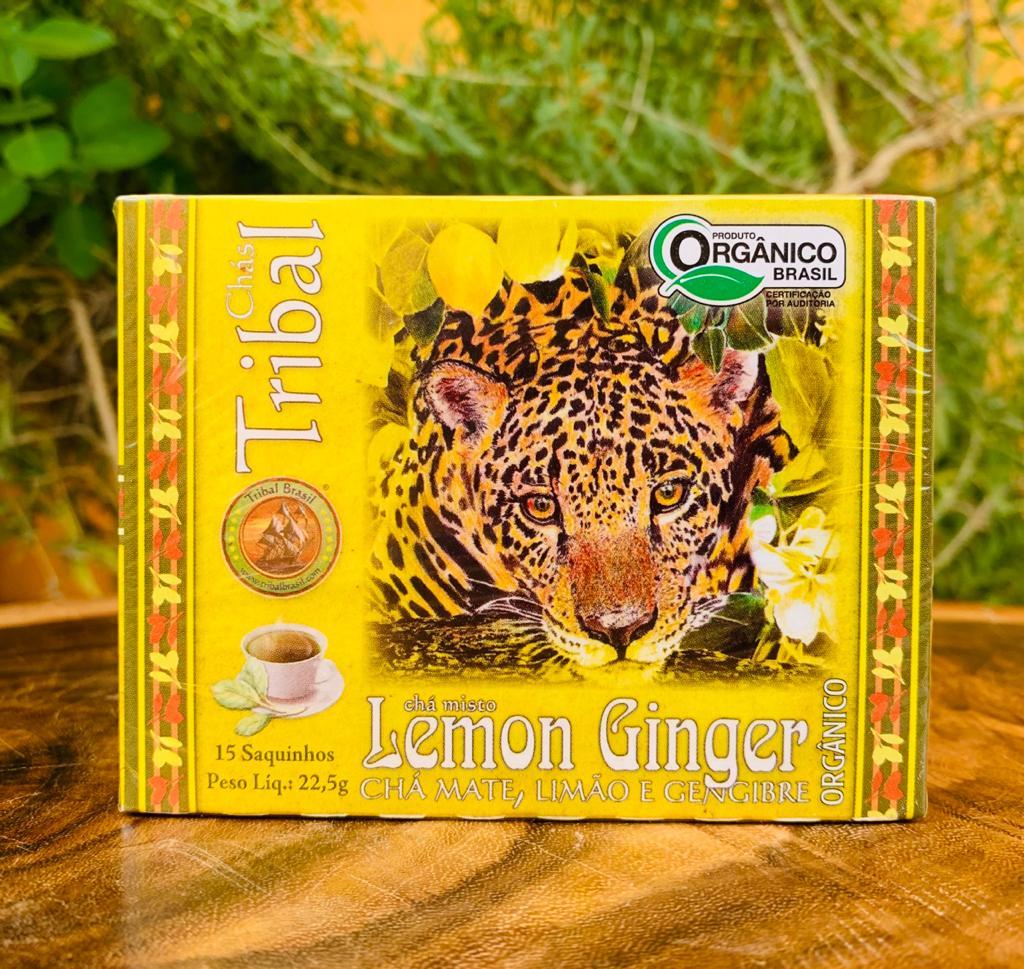 Chá Lemon Ginger  - Casa do Mel