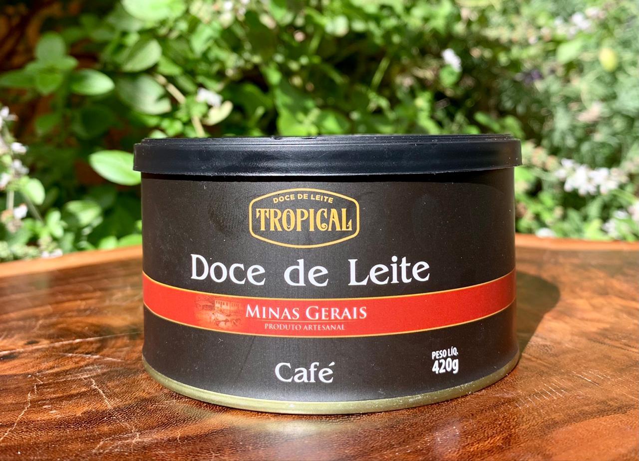 Doce de Leite com Café  - Casa do Mel