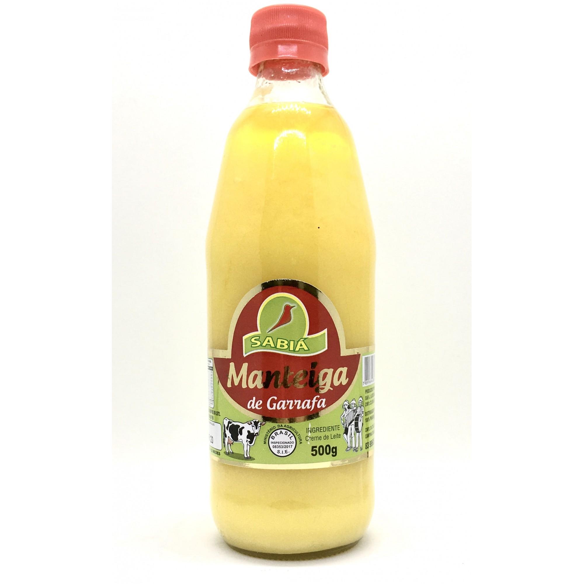 Manteiga de Garrafa Sabiá  - Casa do Mel