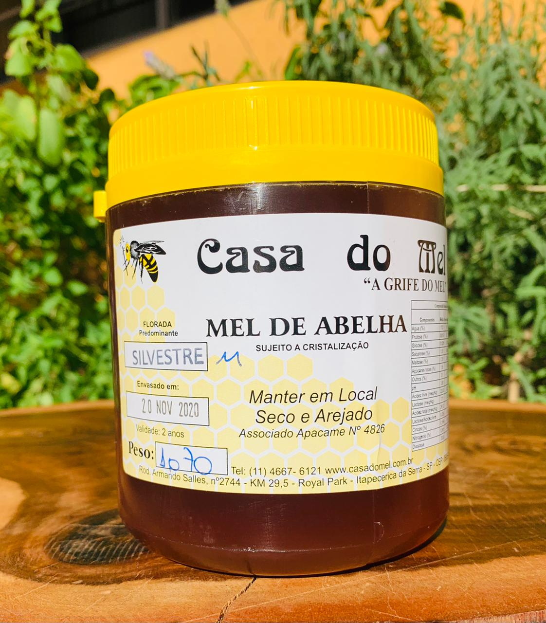 Mel de Flor Silvestre   - Casa do Mel