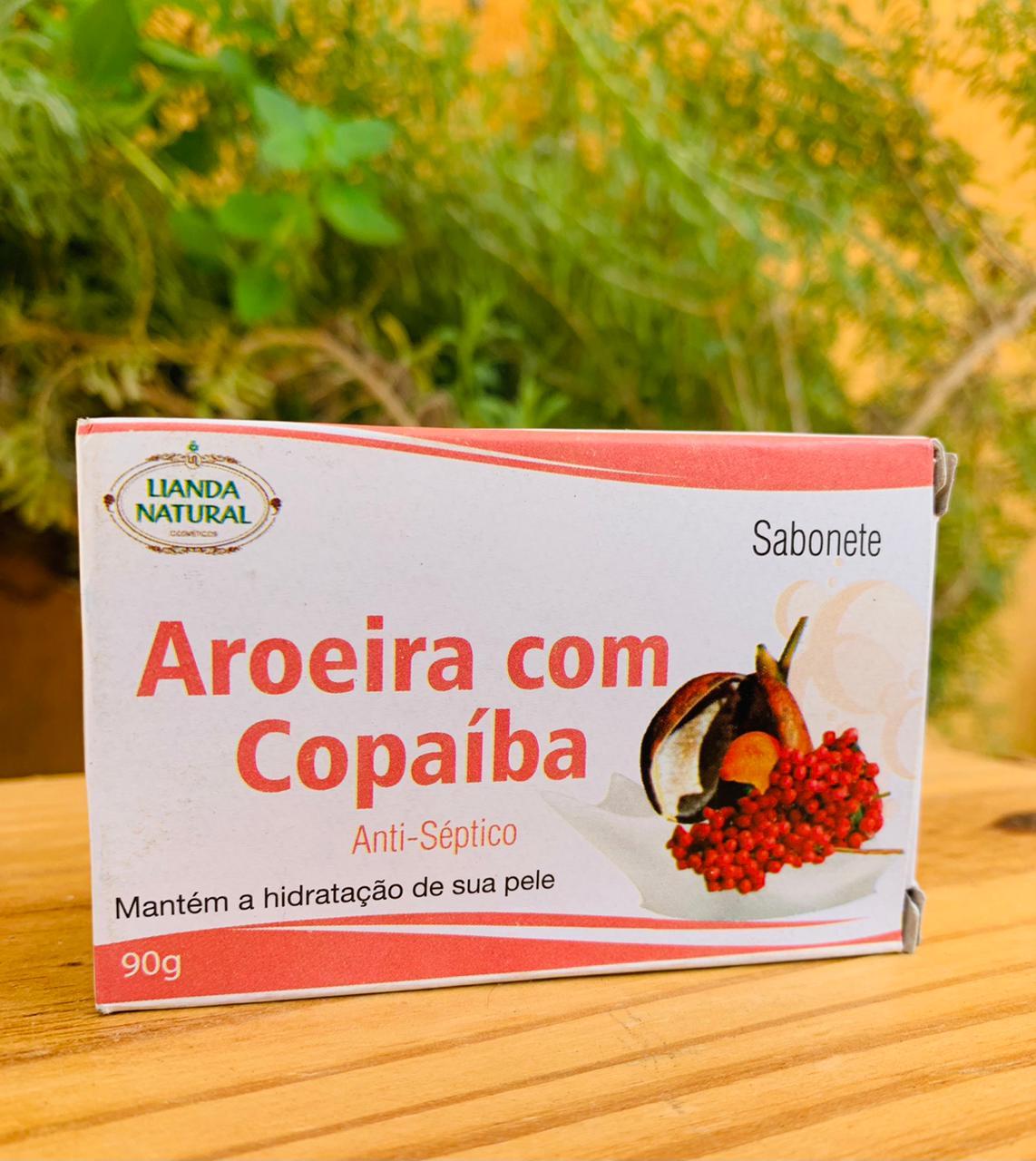 Sabonete de Aroeira com Copaíba  - Casa do Mel