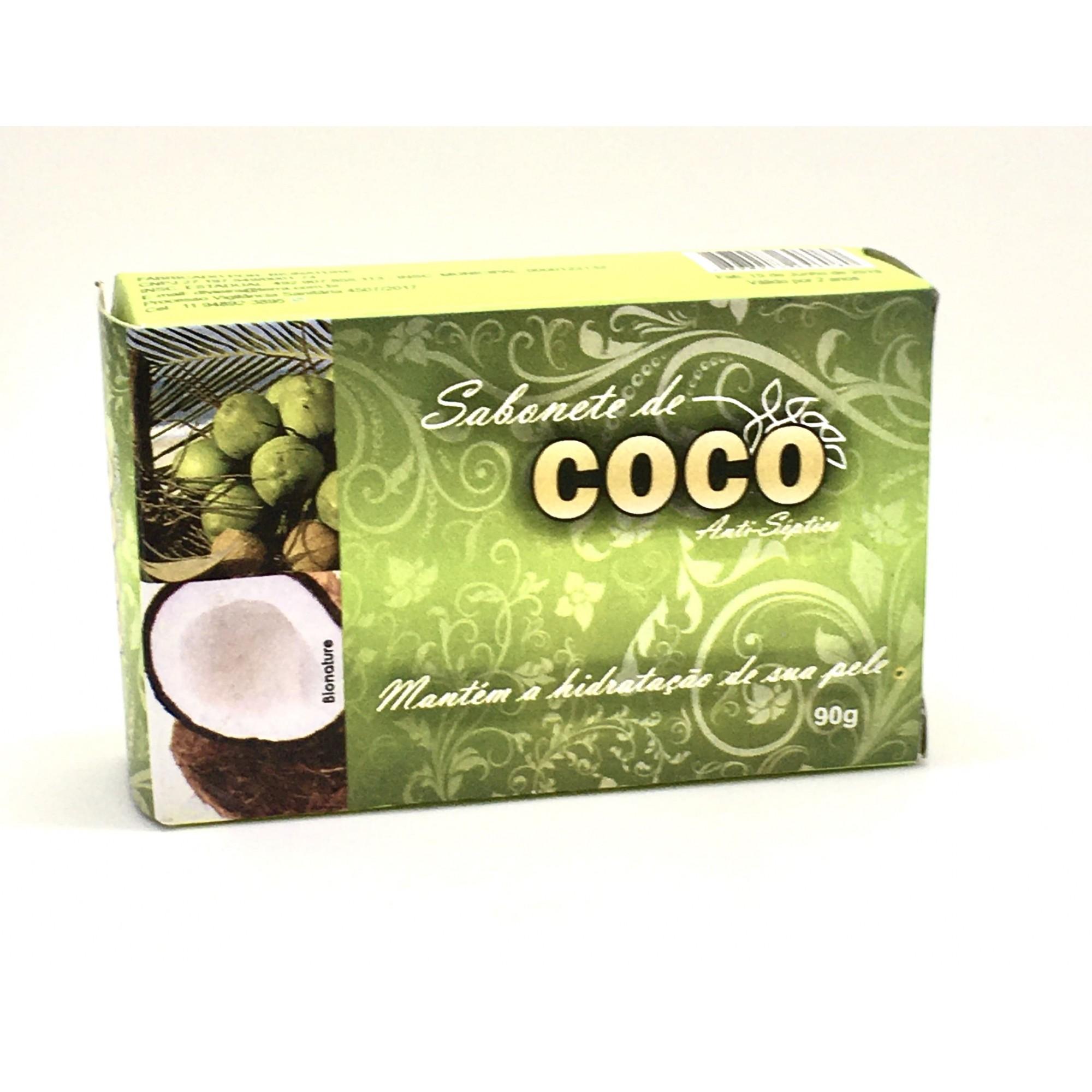 Sabonete de Coco  - Casa do Mel