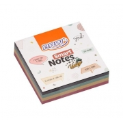 Bloco Smart Notes Cube Vintage 76x76MM - BRW