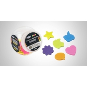 Bloco Smart Notes Neon 45x45mm - BRW