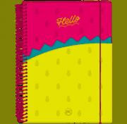 Caderno Colegial Dac - Hello