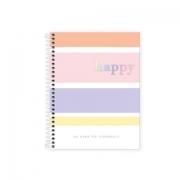 Caderno Colegial Happy colors Tilibra