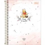 Caderno Colegial Pooh 10 matérias - Tilibra