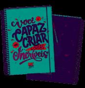 Caderno Lettering Colegial - Dac