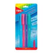 Caneta Esferográfica Comfort  kit c/4 - Tris